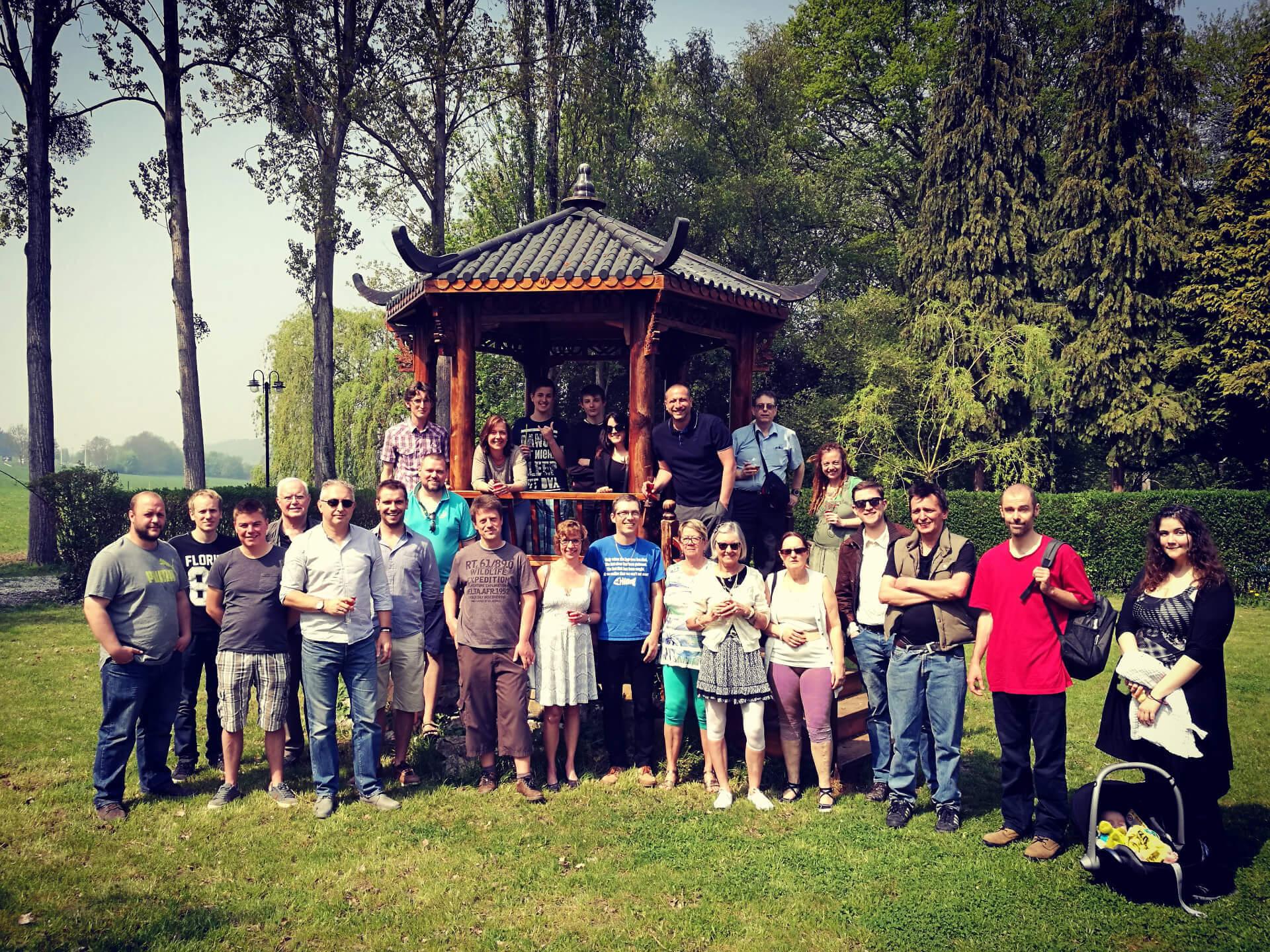 Réunion avec les membres observateurs de Belgorage le 21 avril 2018 à Malonne dans la province de Namur