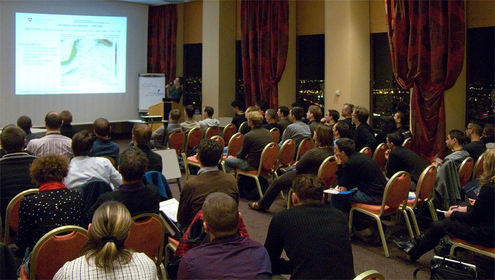 Conférences – Séminaire Keraunos 2012 – Exposé sur l'orage supercellulaire du 10 septembre 2011 dans la région de Boekhoute