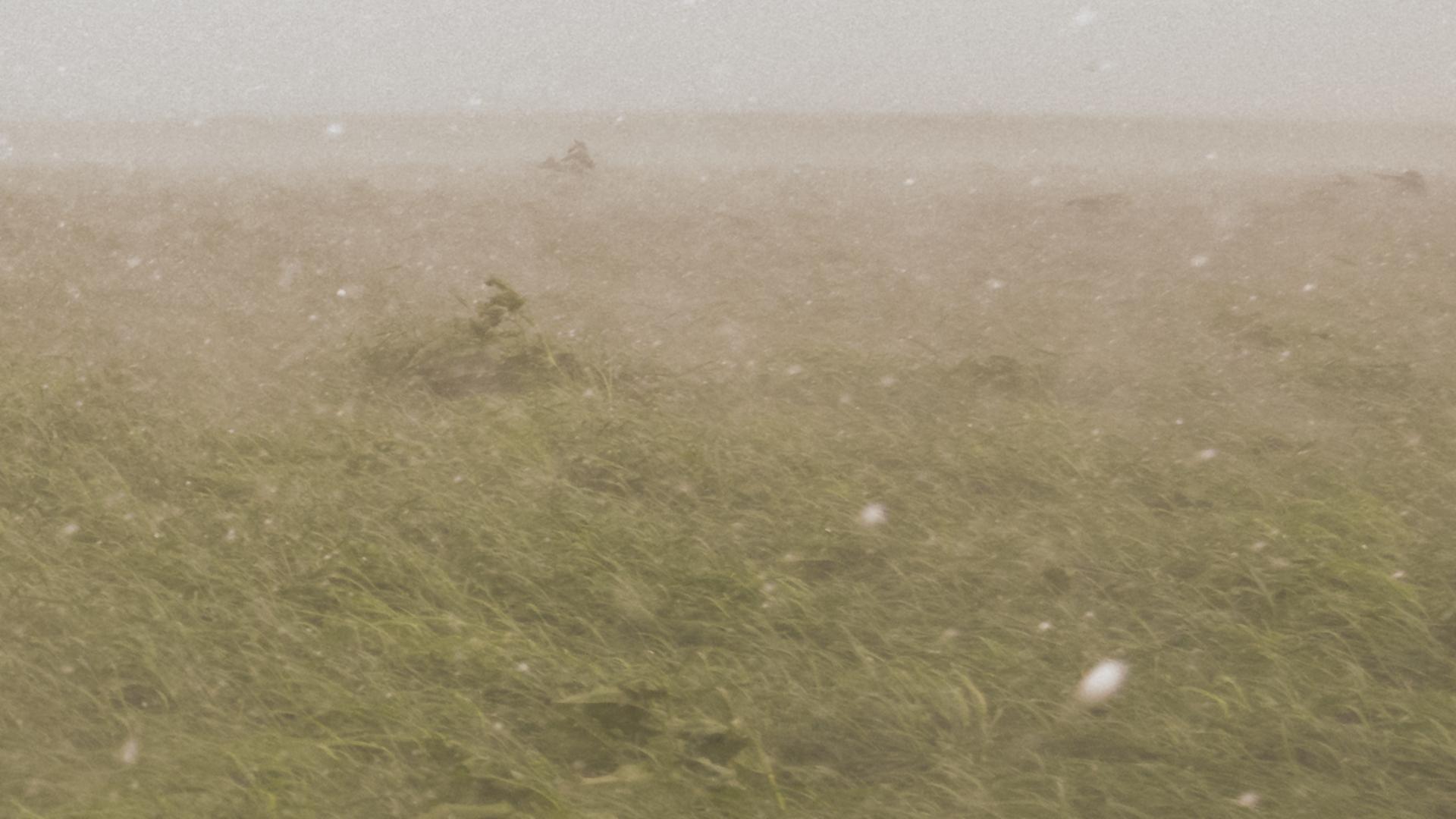 Instants d'orages – Chute de grêlons de 3 à 4 cm